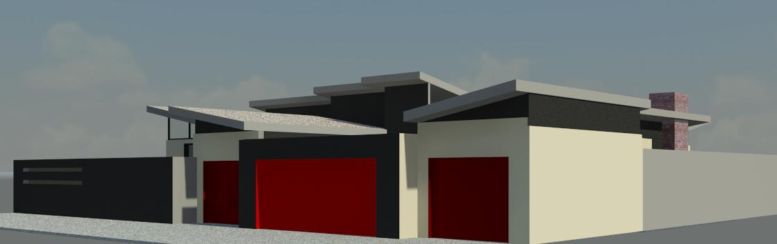 Ben Dikobe House 3D View 2